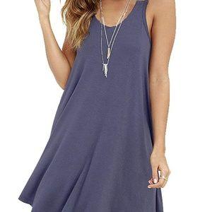 Swing Simple T-Shirt Loose Dress